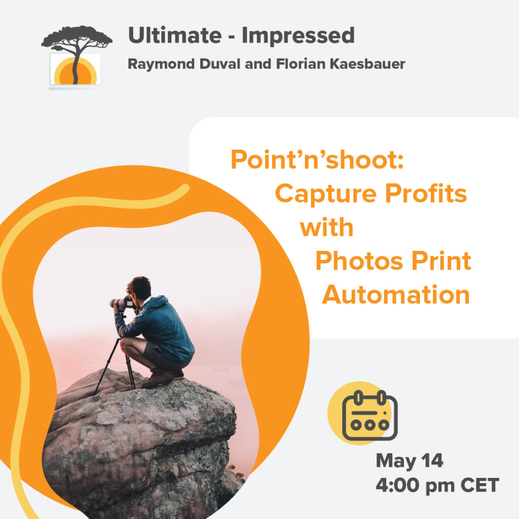 Point'n'Shoot: Capture Profits with Photo Print Automation