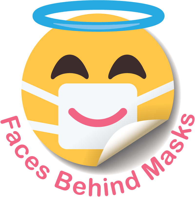 Faces Behind Masks – making being in hospital less scary for everyone.